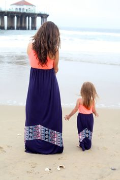 Dream Catcher Maxi Dress Littles - Be Inspired Boutique