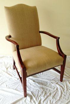Hickory Chair Plaid Martha Washington Chair by WydevenDesigns, $500.00 ...