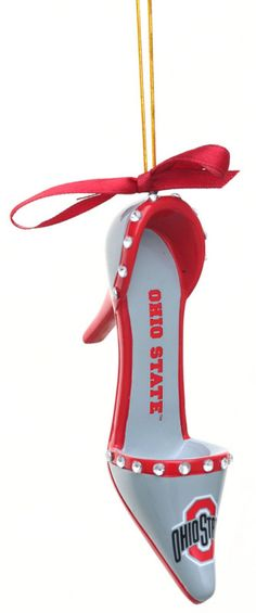 Ohio State Shoe Ornament