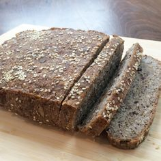 Remember my GLUTEN FREE VEGAN SEED BREAD?  And how I wanted to make it  Paleo? I am soooooo happy to share that I finally tried to convert the  recipe and it worked! Perfectly! I am so excited! It tastes almost exactly  the same as the original bread and has a very similar texture. If you are  on a restricted diet or eat paleo, this bread will knock your socks off!  Disclaimer: it is not intended to be a sandwich-y bread. It is thick and  best eaten plain (so yummy!) or toasted and topped…