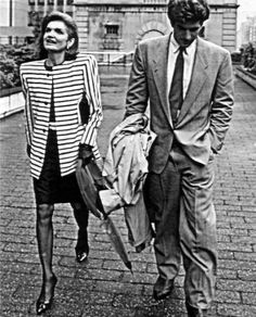 """thekennedywives: """"Jackie and John """""""
