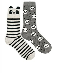 Enlarge Oysho Panda 2 Pack Socks