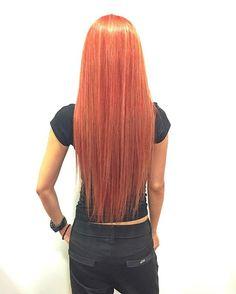 WEBSTA @ kenikahiko - モデルのNAMiEの新色!ブラッドオレンジジュースカラー#keniworks #hairmake #hair_make #art #shooting #hairstyle #haircolor #mode#color #JAPAN #instagood #instahair #style #fashion #l4l #Bloodorange #orange #ヘアカタ #ロング #ヘアカラー #カラー #マニパニ #オレンジ #ブラッドオレンジ #ブラッドオレンジジュース #福岡 #美容室