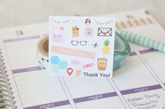 To get more adorable stickers like these, visit KittenPlans on Etsy and become a Wink Kit  subscriber for a monthly dose of happiness!