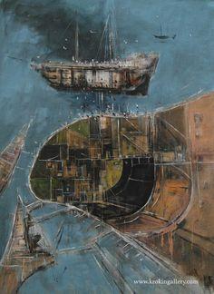 "Konstantin Batynkov ""Cartography"", acryl on vinyl paper, Vinyl Paper, Russian Art, Cartography, Moscow, Maps, Contemporary Art, Art Gallery, Artist, Art Museum"