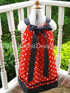 disney-inspired pillowcase dress