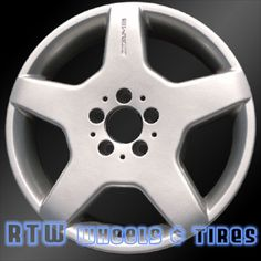 "Mercedes S430 S500 S600 18"" 03-06 FRONT Factory Wheel Alloy OEM Rim 65309"