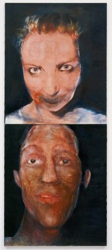 MARLENE DUMAS: THE OCCULT REVIVAL, 1984 -repinned by http://LinusGallery.com  #art #artists #oilpainting