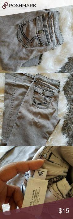 Grey boot cut Rock & Republic Jeans Chic grey boot cut Jeans Rock & Republic Jeans Boot Cut