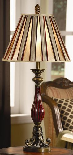 Brandishing an elegant design, this Madison Light table lamp is an apt addition to your bedroom. Brightening your personal space with its resplendent beauty, this lamp flaunts a statuesque caricature.