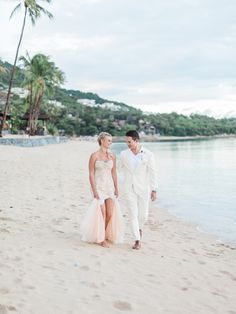 Candice and Neil's destination wedding in Kho Samui. Shot by Abby for The Barefoot Brunettes. Wedding Destinations, Destination Wedding, Brunettes, Barefoot, Thailand, Wedding Dresses, Fashion, Bride Dresses, Moda