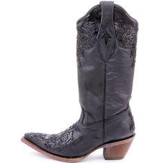 Cowgirl Clad Company - Corral Black Lizard Cowgirl Boots C2147, $310.00 (http://www.cowgirlclad.com/corral-black-lizard-cowgirl-boots-c2147/)