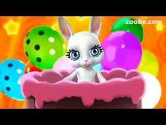Feliz Aniversário !! - coelhinha falante - mensagem - YouTube