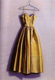 Yellow Dress, 1974. Wayne Thiebaud