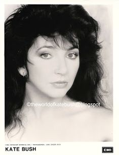 THE WORLD OF KATE BUSH: Promotional Publicity Photographs Count On You, Usa Network, Record Company, Columbia Records, Film Strip, Press Kit, Press Photo, Over The Years, Promotion