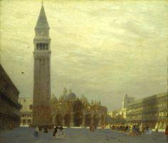 Ciardi Guglielmo, Basilica di San Marco a Venezia (Galleria d'Arte Moderna Ricci Oddi, Piacenza)