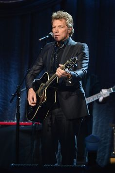 Jon Bon Jovi Photos: Howard Stern Celebrates His Birthday in NYC