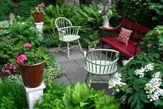 Small garden design ideas are not simple to find. The small garden design is unique from other garden designs. Space plays an essential role in small garden design ideas. Design Patio, Backyard Garden Design, Small Garden Design, Backyard Landscaping, Landscaping Ideas, Backyard Patio, Cozy Patio, Landscaping Company, Small Gardens