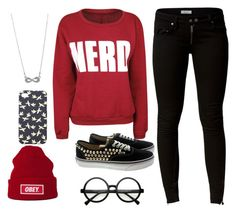 """""""(100+)"""" by you-are-the-only-exception ❤ liked on Polyvore featuring OBEY Clothing, Issue 1.3, Vans, FOSSIL, Retrò and Style Tryst"""