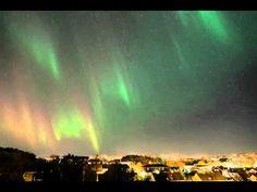 Aurora Borealis over Kristiansund, Norway