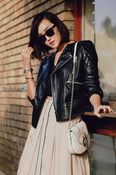 The best street style tips from Chriselle Lim. Find them on her #StyletagApp!