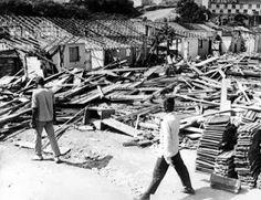 Remoção do Parque Proletário da Gávea.  Data: 06 de abril de 1970