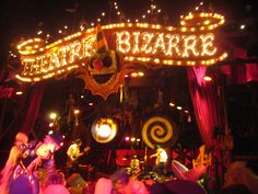review theater traveling carnival freakshow
