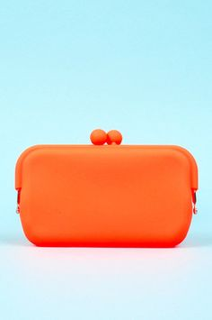 Flexi Clutch in Orange $16 at www.tobi.com