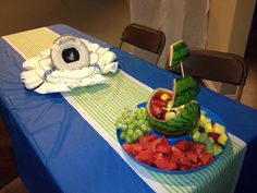 Nautical Baby Shower Party Ideas | Photo 1 of 26 | Catch My Party