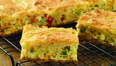 10 receitas fáceis que ficam prontas em 30 minutos ou menos - Morando Sozinha - torta de legumes liquidificador