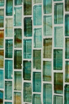glass tile I Love this!!