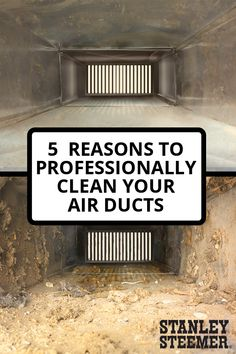 """""""Air duct cleaning improves the air quality in your home, which is especially important if you or your loved ones suffer from asthma or allergies. Here are five reasons why you need to clean your air ducts. Homemade Cleaning Products, Household Cleaning Tips, Cleaning Hacks, Homemade Air Conditioner, Hvac Ductwork, Cleaning Air Vents, Hvac Design, Hvac Maintenance, Clean Air Ducts"""