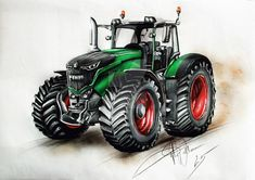 Image result for fendt tractor drawing