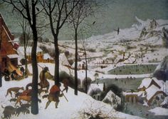 Hunters in the Snow by Pieter Breugel