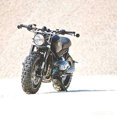 combustible-contraptions: BMW R1200R | Brat Tracker | Scrambler | Lazareth #bmw #scrambler #motorbike