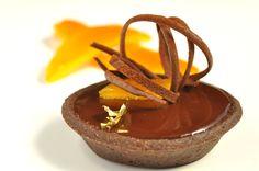 Orange Chocolate Tart | Pastry Chef – Author Eddy Van Damme