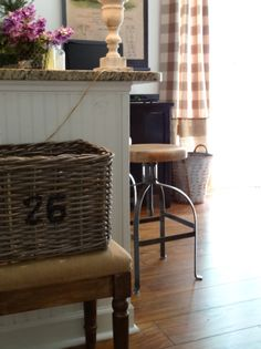 The Essence of Home: Old France  paint numbers on baskets