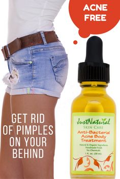 Tired of showing off your arms legs and back full of acne wearing your favorite dresses, shirts, and shorts? Well you won't have to anymore when you try our Anti-Bacterial Body Clear Treatment.