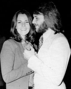 Benny Andersson and Anni-Frid Lyngstad 1973