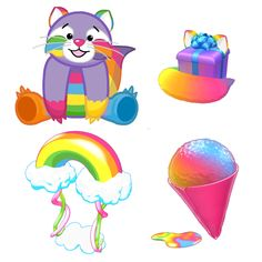 Any rainbow Webkinz pet or anything rainbow on webkinz!