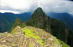 Machu Picchu Ruins - One of the new 7 wonders of the world