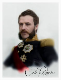 Alexandru Ioan Cuza, Prince of Moldavia & Prince of Wallachia and later the first Ruler of the Romanian United Principalities Blue Bloods, Ruler, The One, Unity, Prince, Military, Icons, History, People