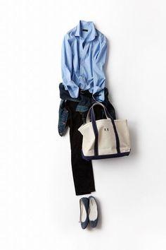 コーディネート詳細(クールなようでキュートな配色が魅力)| Kyoko Kikuchi's Closet|菊池京子のクローゼット: