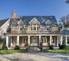 Houzz Photos Exterior | traditional exterior design by nashville architect Norris Architecture