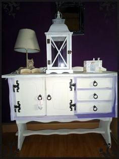 Chalk painted dresser DIY // Shabby Chic Kommode mit Kreidefarbe