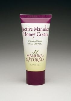Natural Eczema Treatment: Active Manuka Honey Cream-30% Active Manuka Honey UMF 15+