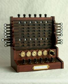 Mechanical Marvel Calculators Schickard Calculating Machine - Calculators - Ideas of Calculators - Mechanical Marvel Calculators Schickard Calculating Machine Mad Science, Old Technology, Science And Technology, Steam Punk, Mechanical Computer, Mechanical Calculator, Instruments, Old Computers, Marvel