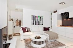 Lakberendezés szívvel-lélekkel: Kis lakások sorozat - 31m² szépség / Small apartments series - 31m² beauty
