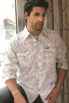 Mens Western Snap Shirts : Paisley Inside Out Shirt - Southern Thread On Line Store