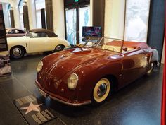 An amazing day at the Protyp-Das Automuseum in Hamburg for their 356-VIP exhibition This 1949 356/2 003 is the oldest production 356 left in the world. The coach work is by Beutler. #Porsche #porschelife #porschelove #classicporsche #porscheclassic #356 #porschepix #porscheporn #porscheartdaily by pomopar February 27 2016 at 04:33PM